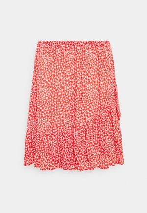 SKIRT FIONA - Mini skirt - red