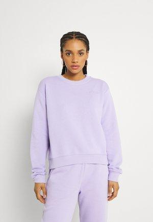 LOGO BASIC - Sweatshirt - lavender