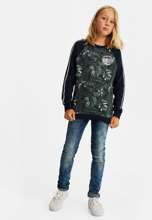 JONGENS MET DESSIN EN TAPEDETAIL - Sweatshirt - multi-coloured