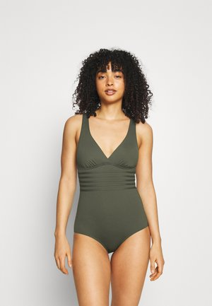SWIMSUIT CROSS - Plavky - olive