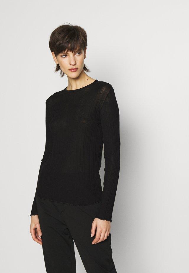 ERMA - Sweter - black