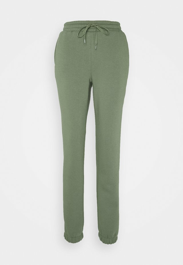 NMNORA - Tracksuit bottoms - dusty olive
