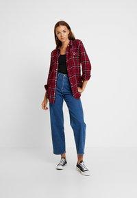 Lee - REGULAR WESTERN - Button-down blouse - warp red - 1
