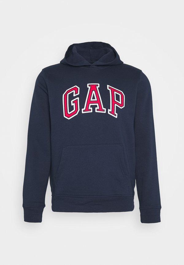 GAP ARCH - Bluza z kapturem - tapestry navy/granatowy Odzież Męska DAST