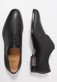 BOSS - KENSINGTON - Elegantní šněrovací boty - black - 1