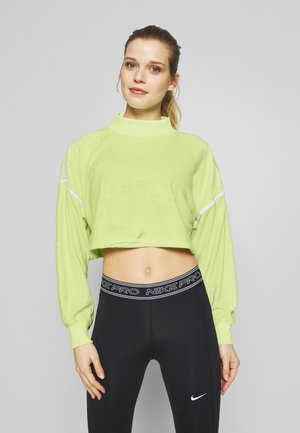 CITY TRAIN  - Sweatshirt - barely volt/spruce aura