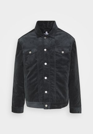 TRUCKER JACKET - Light jacket - ebony