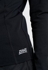 Zoggs - SUN LONG SLEEVED FULL ZIP - Nattlinne - black - 4