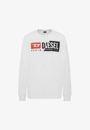 T-DIEGO-LS-CUTY  - Sweatshirt - weiß