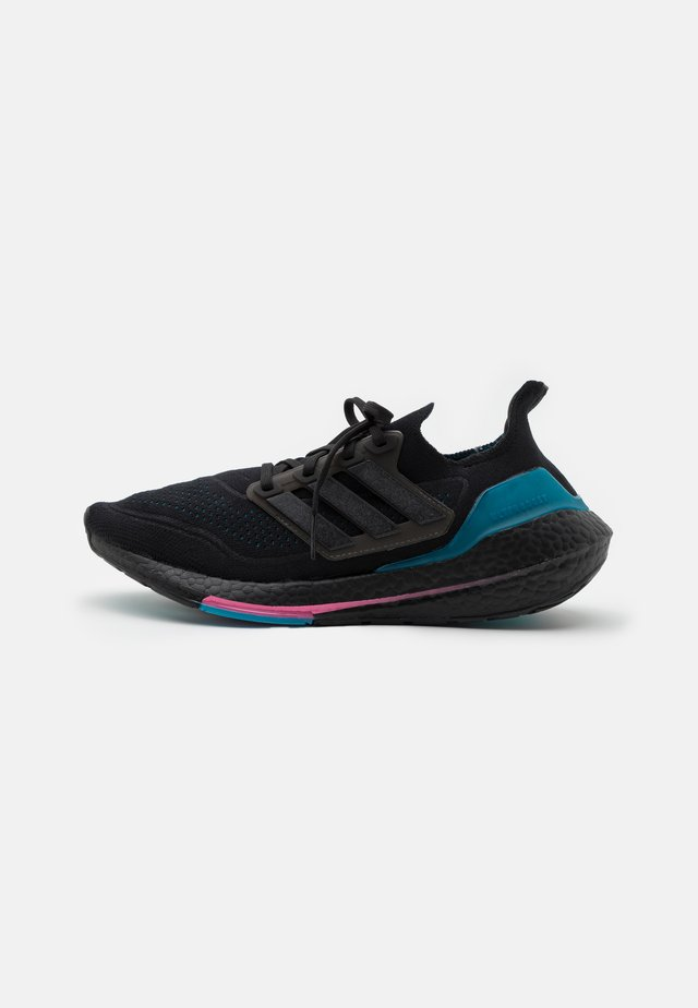 ULTRABOOST 21 - Zapatillas de running neutras - core black/carboctive teal