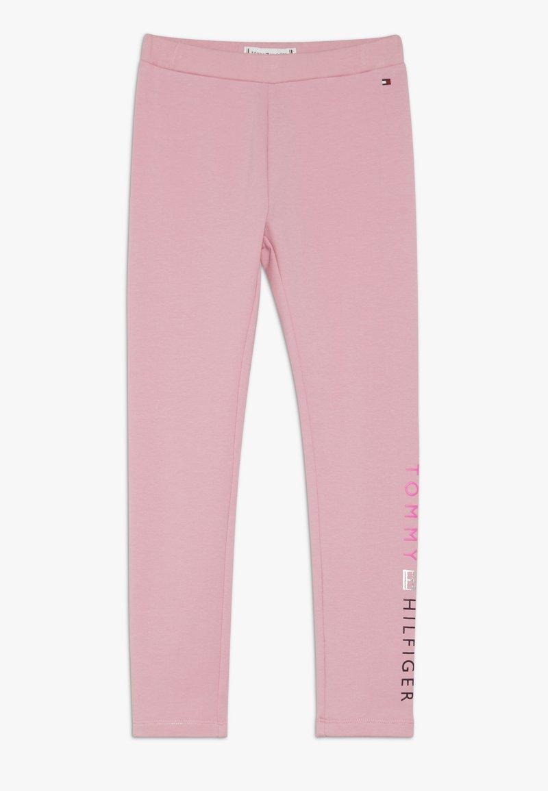 Tommy Hilfiger - ESSENTIAL LOGO - Leggings - pink