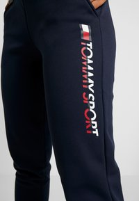 Tommy Sport - BIG LOGO - Trainingsbroek - blue - 4