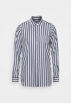 LANGARM - Overhemdblouse - dunkelblau
