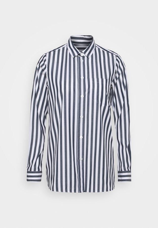 LANGARM - Camicia - dunkelblau