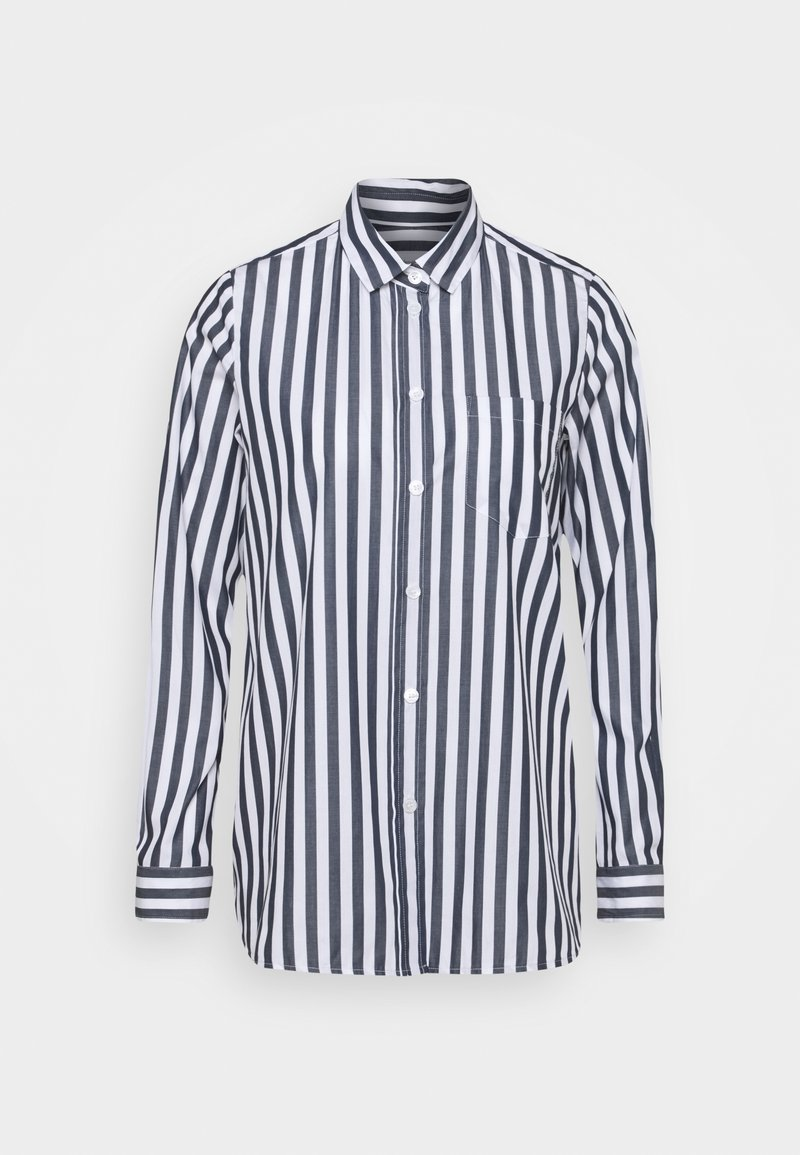 Seidensticker - LANGARM - Button-down blouse - dunkelblau