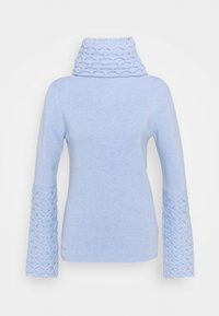 Temperley London - HONEYCOMB JUMPER - Svetr - powder blue - 5