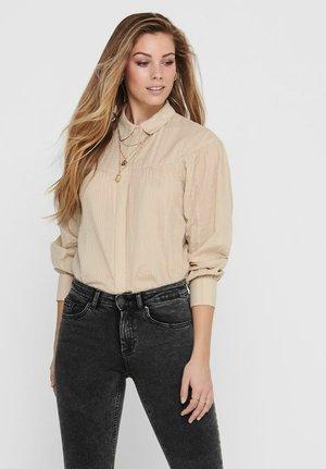 Button-down blouse - humus