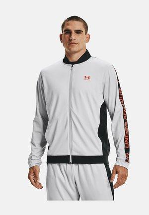 TRICOT FASHION JACKET-BLK - Zip-up sweatshirt - grey