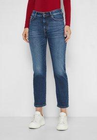 WEEKEND MaxMara - ANGOLO - Straight leg jeans - blue marine - 0
