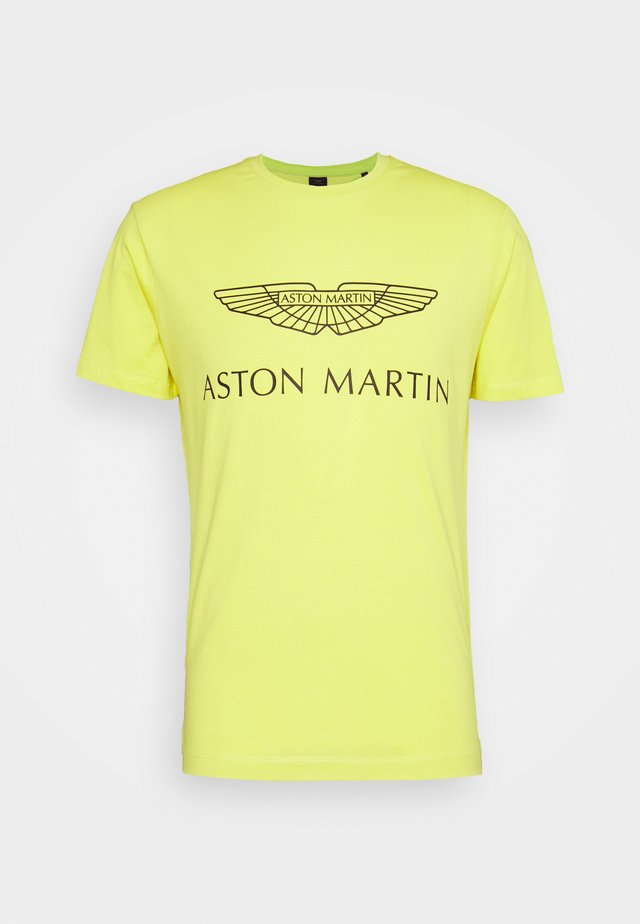 AMR LOGO  - T-shirt print - millennium yellow