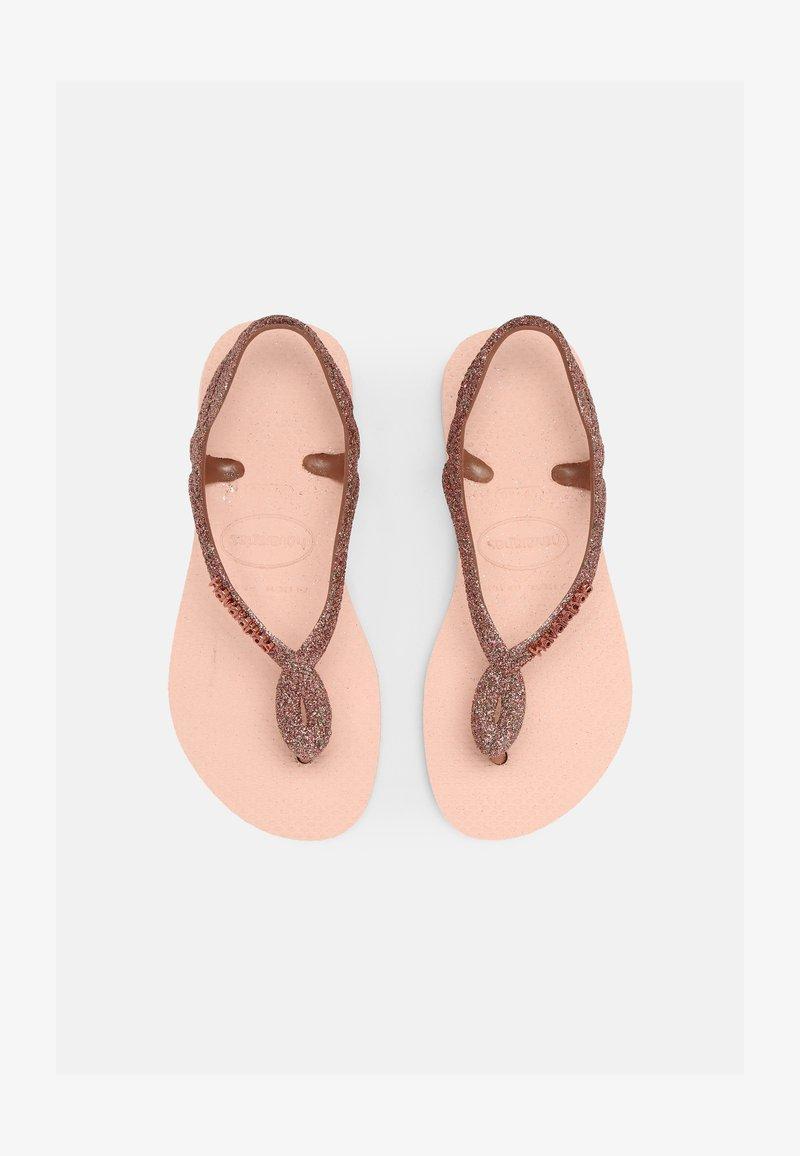 Havaianas - LUNA PREMIUM - T-bar sandals - ballet rose