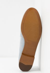 Anna Field - LEATHER SLIPPERS - Półbuty wsuwane - light blue - 6