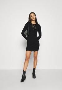 Even&Odd - JUMPER DRESS - Etuikjole - black - 1