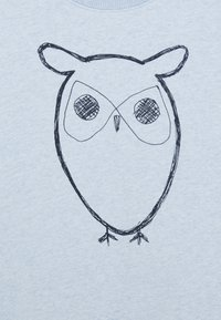 KnowledgeCotton Apparel - LOTUS OWL - Mikina - light blue - 2