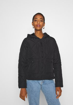 NMFALCON JACKET TALL - Summer jacket - black