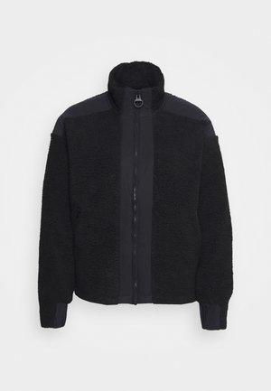 ORIGINAL PILE ZIP - Outdoorová bunda - black