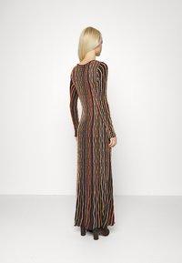 M Missoni - LONG DRESS - Jumper dress - carob - 3
