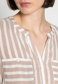 TOM TAILOR - Blouse - beige offwhite - 4