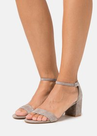 Anna Field - LEATHER - Sandals - grey - 0