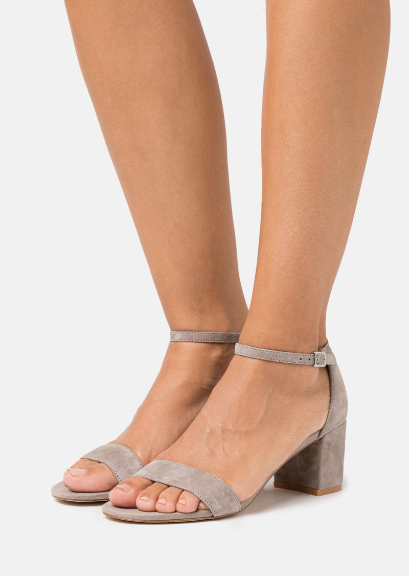 Anna Field - LEATHER - Sandals - grey
