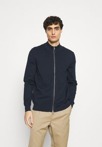 Marc O'Polo - JACKET WITH ZIP - Cardigan - total eclipse - 0