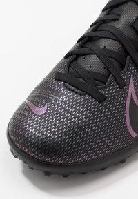 Nike Performance - MERCURIAL VAPOR 13 CLUB TF - Kopačky na umělý trávník - black - 2