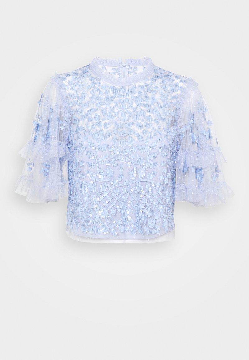 Needle & Thread - AURELIA  - Blusa - wedgewood blue