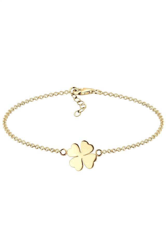 KLEEBLATT  - Armband - gold