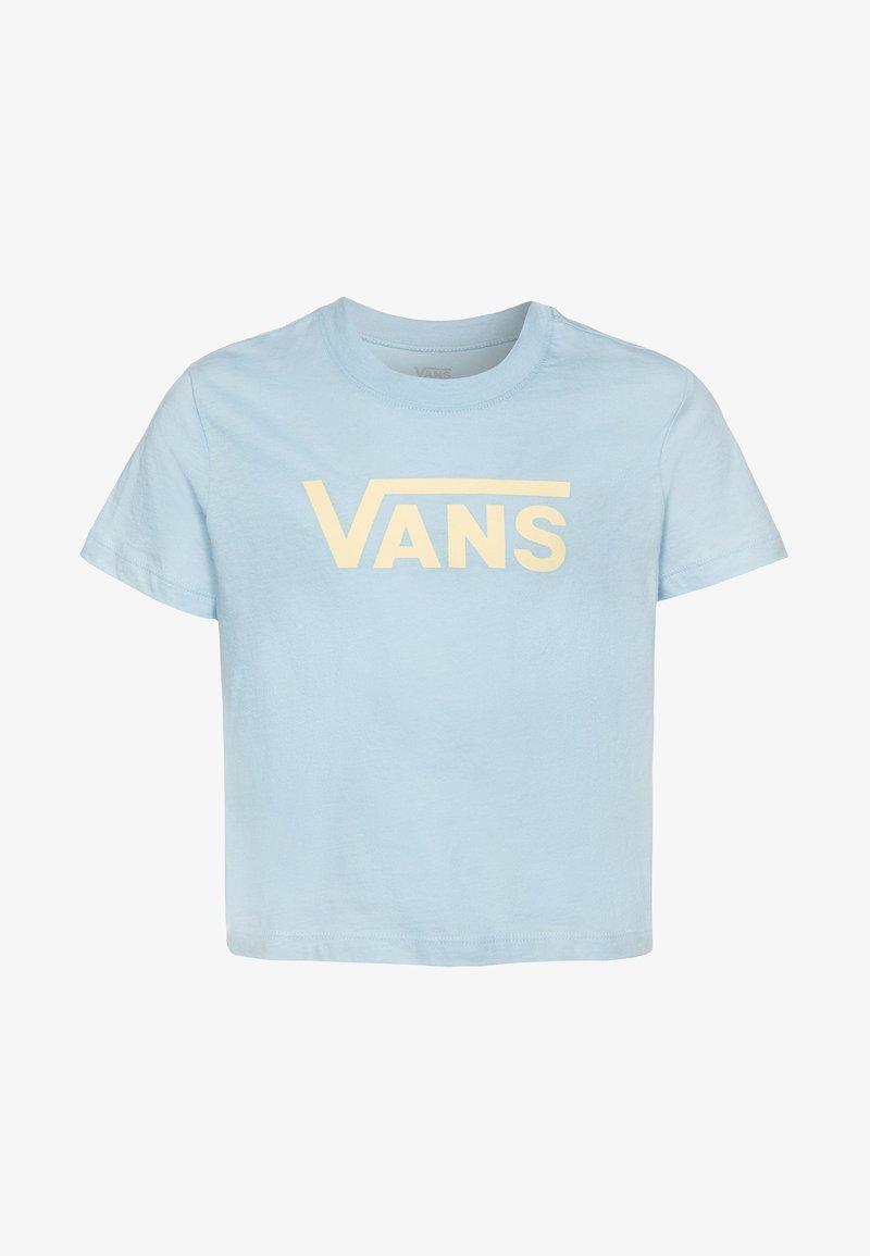 Vans - FLYING GIRLS BOXY - Camiseta estampada - dream blue