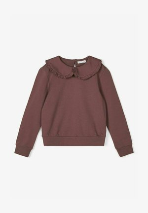 Sweatshirt - marron
