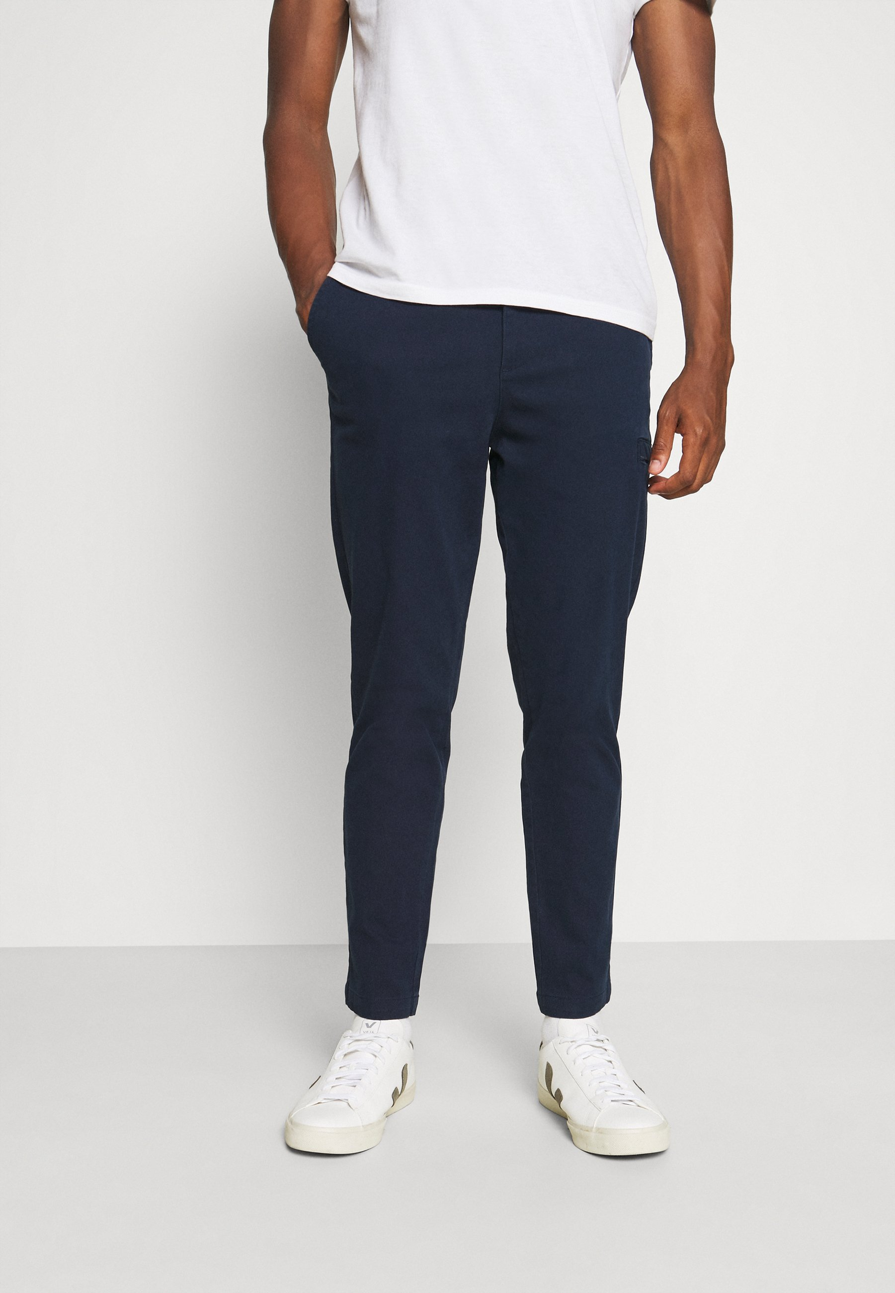 Uomo SLHSLIMTAPERED FRANZ PANTS  - Pantaloni