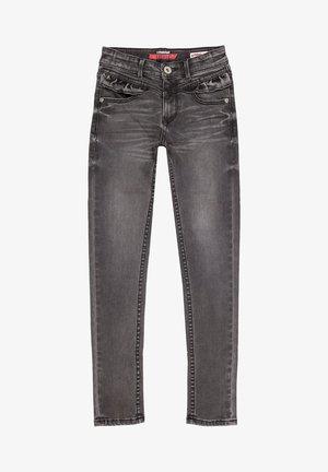 Slim fit jeans - dark grey vintage