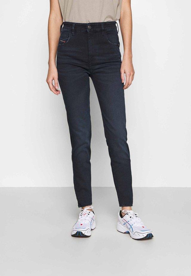 D-SLANDY-HIGH - Jeans Skinny Fit - indigo