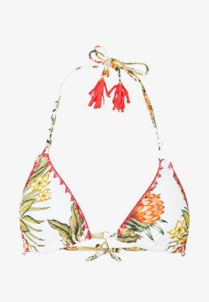 NUCO LAHAINA - Bikini top - ecru