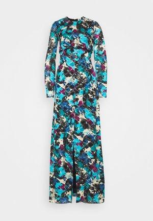 LONG DRESS - Vestito lungo - black/ink/teal