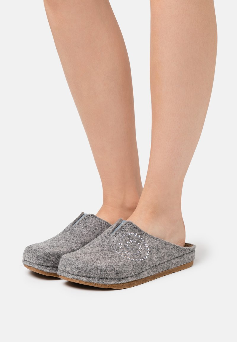 s.Oliver - Slippers - light grey