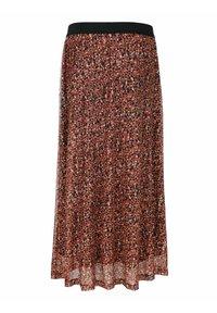 Laura Kent - Pleated skirt - haselnuss - 5
