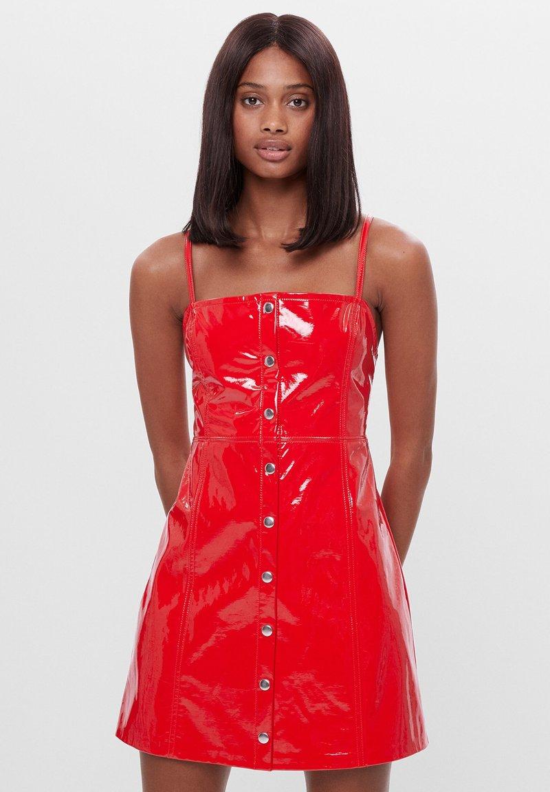 Bershka - Sukienka letnia - red