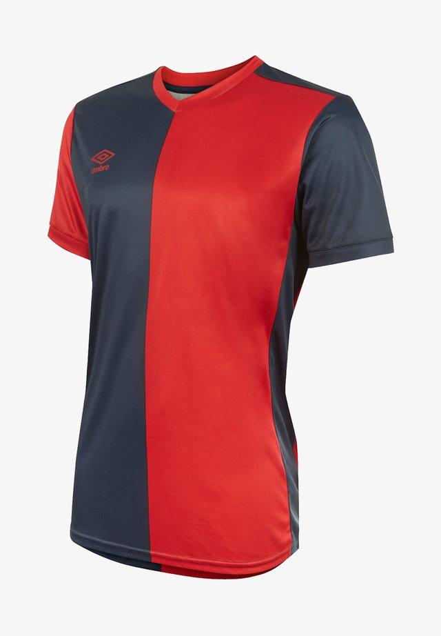 FUSSBALL - TEAMSPORT TEXTIL - TRIKOTS 50/50 TRIKOT KURZARM - Print T-shirt - blauweiss
