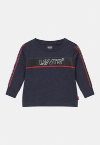 Levi's® - LONGSLEEVEGRAPHICTEE - Long sleeved top - peacoat heather - 0